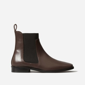 Everlane The Square Toe Chelsea Boot