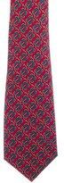 Gucci Rope Print Silk Tie