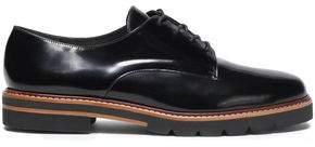 Stuart Weitzman Patent-leather Brogues