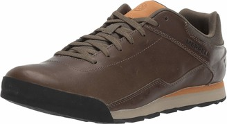 Merrell Men's Burnt Rocked Leather Sneaker