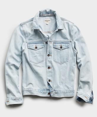 Todd Snyder Japanese Denim Jacket in Sun Bleach Wash