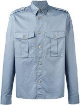 Maison Margiela military style double fastening shirt - men - Cotton - 40
