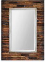 Ren Wil Ren-Wil Pretoria 30-Inch x 42-Inch Rectangular Mirror in Brown