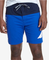 Nautica Men's Lightweight Colorblocked Pajama Shorts