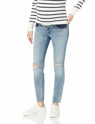 DL1961 Women's Maternity Florence Instasculpt Mid Rise Skinny Fit Jean