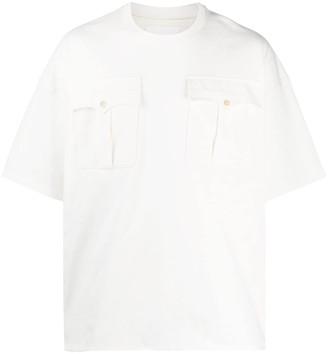 Jil Sander oversized flap pockets T-shirt