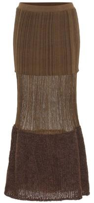 MONCLER GENIUS 2 MONCLER 1952 knit maxi skirt