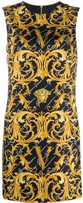 Versace GV Virtus Barocco printed dress