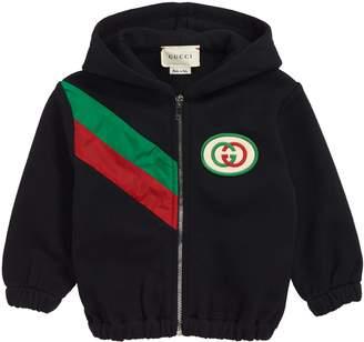 Gucci Stripe Zip Hoodie