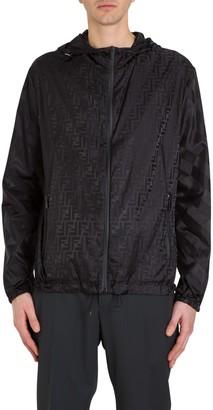 Fendi FF Motif Zipped Jacket