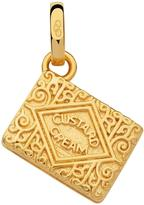 Links of London Sterling Silver 18kt gold plate custard cream biscuit charm