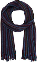 Drakes Drake's DRAKE'S MEN'S STRIPED SCARF