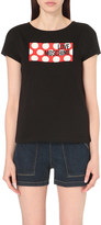 Love Moschino Logo-print jersey t-shirt