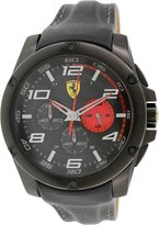 Ferrari Men's Scuderia 0830030 Leather Quartz Watch