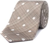Alexandre Of England Oliver Stone Polka Dot Tie