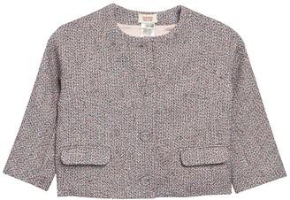 Paul & Joe Sister Deauville Crop Tweed Jacket