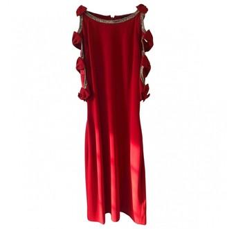 Jenny Packham Red Viscose Dresses