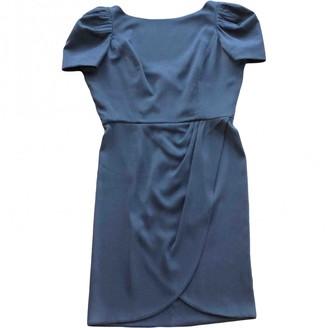 Jasmine Di Milo Grey Silk Dress for Women