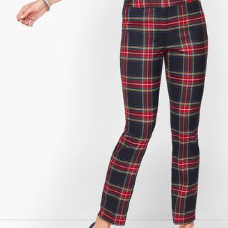 Talbots Hampshire Ankle Pants - Wishful Plaid