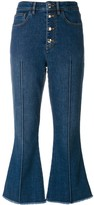 Sonia Rykiel cropped denim trousers