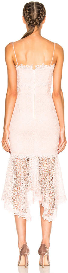 Nicholas Guipure Lace Cocktail Dress