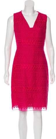 Giambattista Valli Embroidered Knee-Length Dress