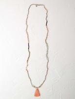 White Stuff Mix match tassel necklace