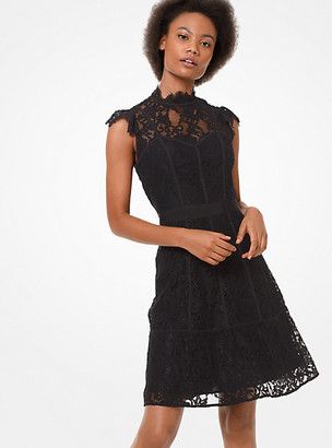 Michael Kors Lace Seamed Dress
