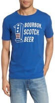 Lucky Brand Men's Bourbon Scotch Beer T-Shirt