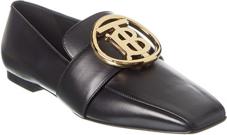 Burberry Monogram Motif Leather Loafer