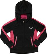 Puma Poly French Terry Zip-Up Hoodie (2T-4T)