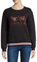 Coach Rexy And Carriage Cotton Sweatshirt