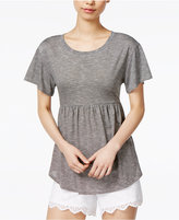 Maison Jules Peplum Top, Only at Macy's