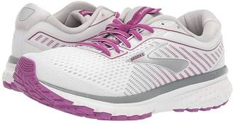 Brooks Ghost 12 (Granite/Peacoat/Peach) Women's Running Shoes