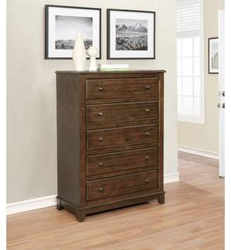 Millwood Pines Lando 5 Drawer Chest Millwood Pines
