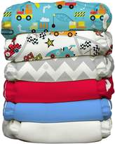 Charlie Banana 6 Diapers 12 Inserts Hybrid AIO