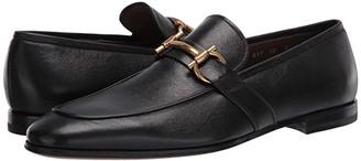 Salvatore Ferragamo Sherman Loafer (Black) Men's Shoes