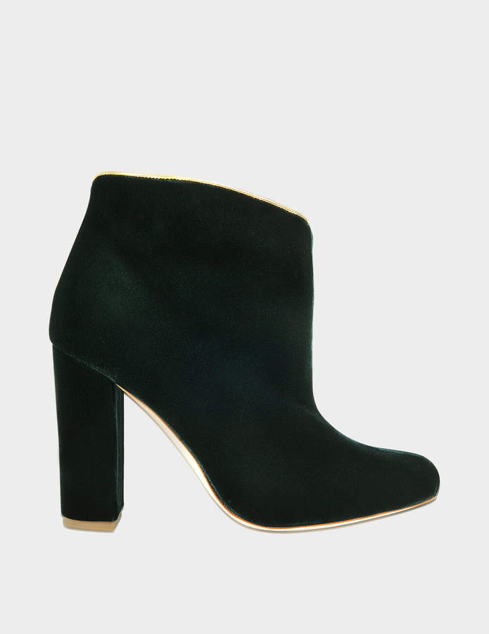 Malone Souliers Eula Velvet booties