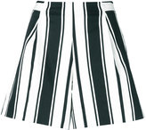 Blugirl striped shorts - women - Cotton/Polyester/Spandex/Elastane - 40