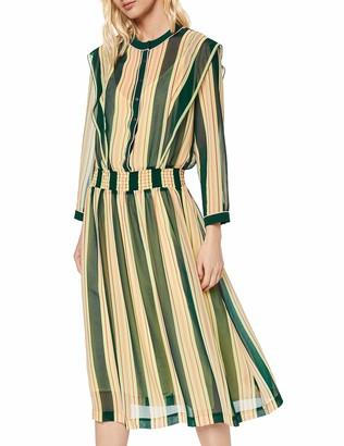 Scotch & Soda Maison Women's Allover Printed Sheer Dress