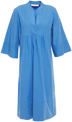 Vanessa Bruno Pintucked Gathered Cotton-poplin Kaftan