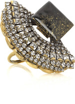 L'age D'or gold-plated ring