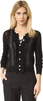 Marc Jacobs Lace Stitch Cardigan