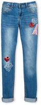 Vigoss Girls 7-16) Kiss Paris Skinny Jeans