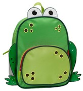 "Rockland 12.5"" Junior My First Backpack - Frog"