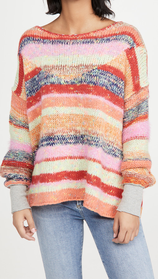 Free People String Lights Pullover