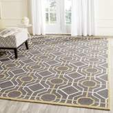 Safavieh FRS244C-5 Four Seasons Collection Hand-Hooked Indoor/Outdoor Area Rug, 5-Feet by 8-Feet
