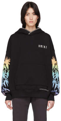 Amiri Black Eternal Happiness Oversized Hoodie
