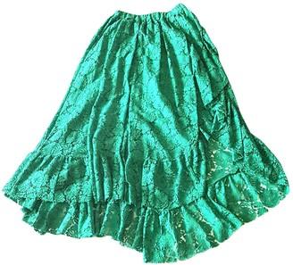 Philosophy di Lorenzo Serafini Green Cotton Dresses