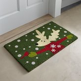 Crate & Barrel Donner Reindeer Doormat